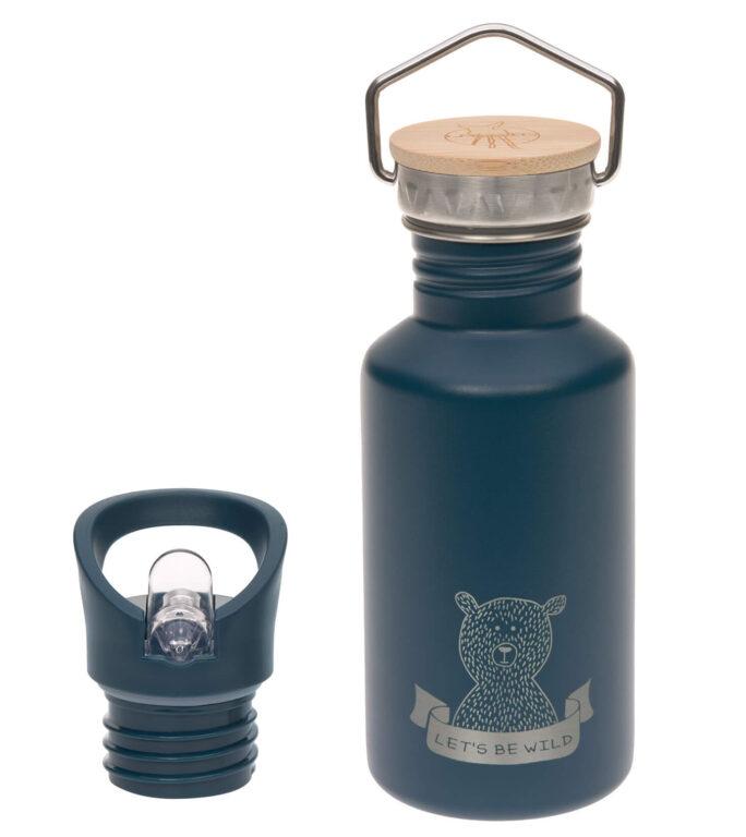 Bottle Stainless Steel Adventure blue