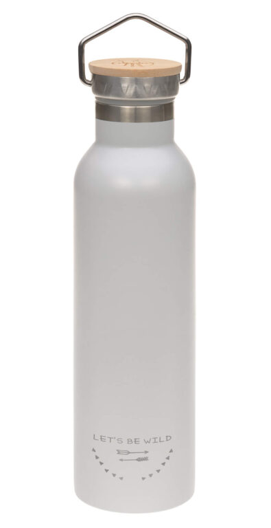 Bottle Stainless St. Fl. Insulated 700ml Adv. grey
