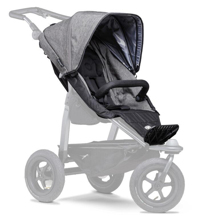 stroller seat unit Mono prem. grey