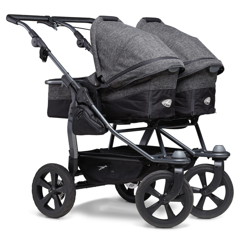 Duo combi pushchair - air chamber wheel prem. anthracite