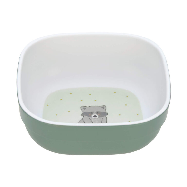 Bowl Melamine/Silicone 2020 About Friends racoon