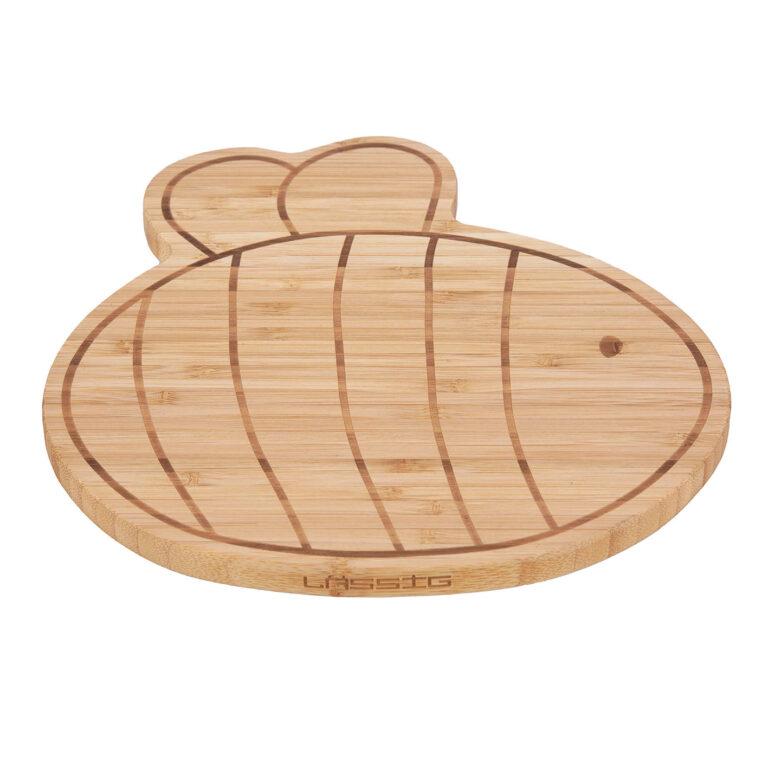 Breakfast Board Bamboo Wood Garden Explorer bee