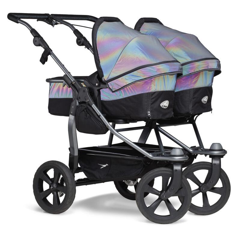 Duo combi pushchair - air chamber wheel glow in the dark