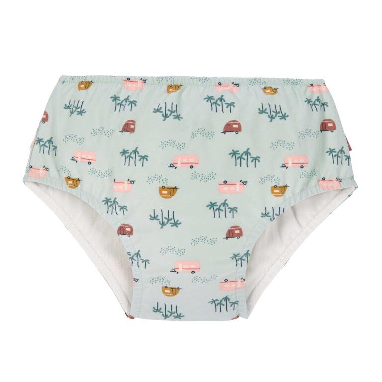 Swim Diaper Girls caravan mint 12 mo.