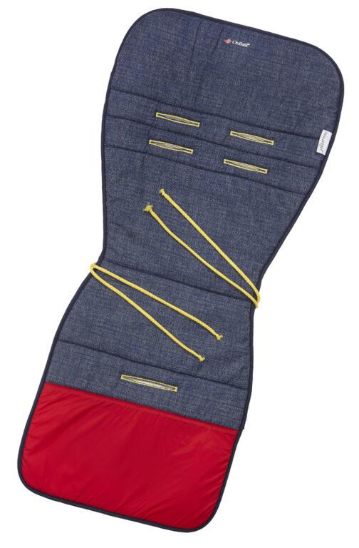 podložka do kočárku Outlast 2020 Jeans