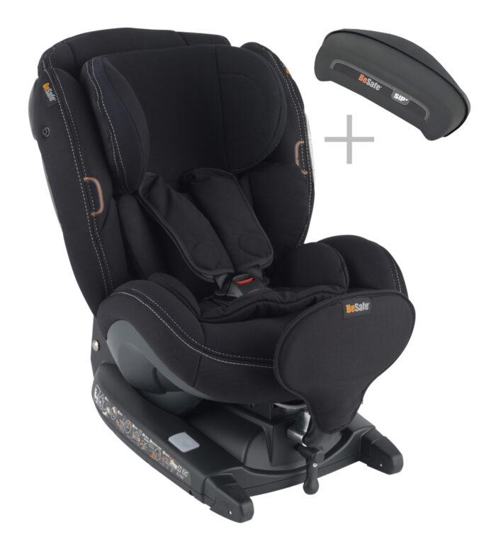 BeSafe, iZi Kid i-Size X3 Premium Car Interior Black