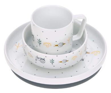 Dish Set Porcelain Garden Explorer boys(7205P.02)