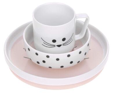 Dish Set Porcelain Little Chums mouse(7205P.05)