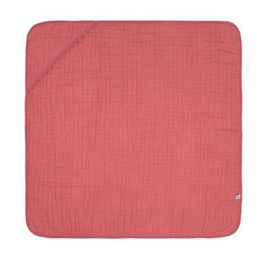 Muslin Hooded Towel rosewood(7311.006)