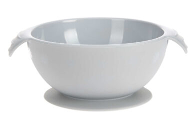 Bowl Silicone grey with suction pad(7246W.03)