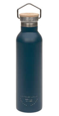 Bottle Stainless St. Fl. Insulated 700ml Adv. blue(73061.03)