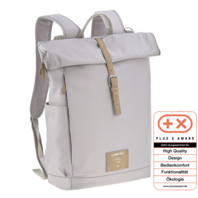 Green Label Rolltop Backpack grey  (7195.003)