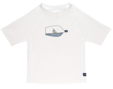 Short Sleeve Rashguard 2020 ship in bottle white 12 mo.  (7226.022)