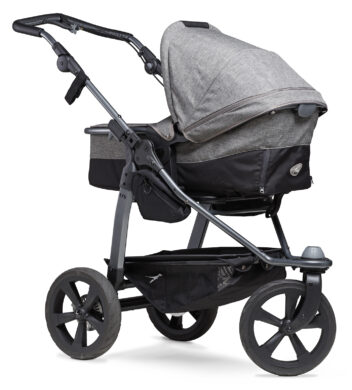 Mono combi pushchair - air chamber wheel prem. grey  (5391P.415)