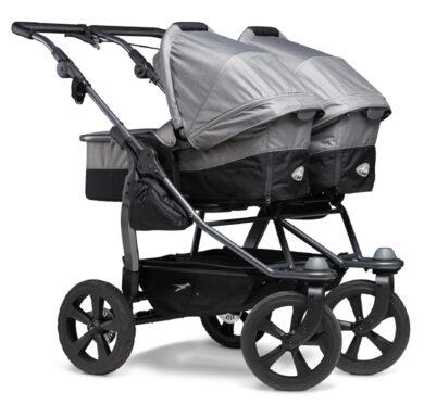 Duo combi pushchair - air chamber wheel grey(5395.315)