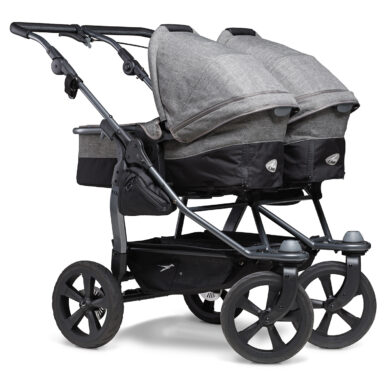 Duo combi pushchair - air chamber wheel prem. grey(5395P.415)
