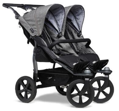 Duo stroller - air chamber wheel prem. grey(5397P.415)