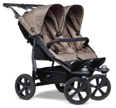 Duo stroller - air chamber wheel brown(5397.327)