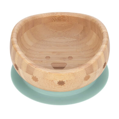 Bowl Bamboo Wood Little Chums dog  (7246V.03)