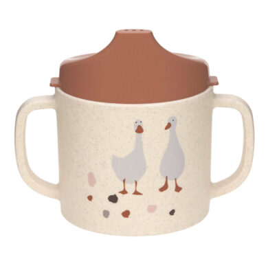 Sippy Cup PP/Cellulose Tiny Farmer Sheep/Goose nature(7245C.01)