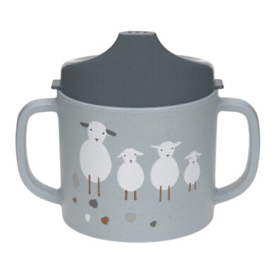 Sippy Cup PP/Cellulose Tiny Farmer Sheep/Goose blue(7245C.02)