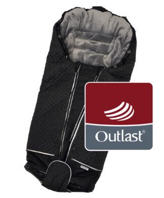 fusak Luxe Outlast 2021 černá/stříbrný prošev/šedá(6368K.01)