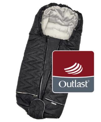 fusak Luxe Outlast 2021 tm.šedá/stříbrný prošev/sv.šedá(6368K.02)