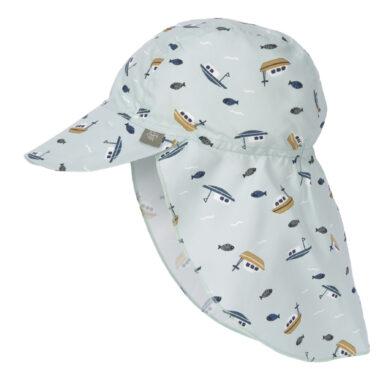 Sun Flap Hat boat mint 18-36 mo.(72921.23)