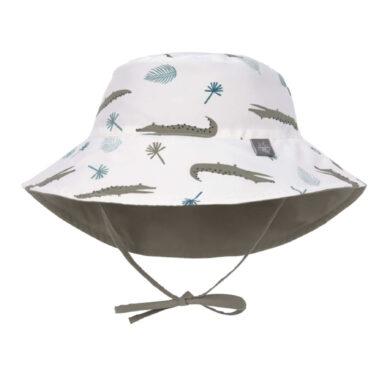 Sun Bucket Hat crocodile white 18-36 mo.(7289.363)