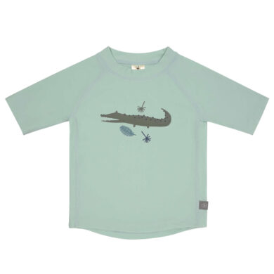 Short Sleeve Rashguard crocodile mint 12 mo.(7226.082)