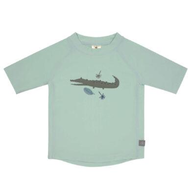Short Sleeve Rashguard crocodile mint 18 mo.(7226.083)