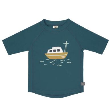 Short Sleeve Rashguard boat blue 18 mo.(7226.093)
