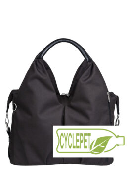 Green Label Neckline Bag black(7101.004)