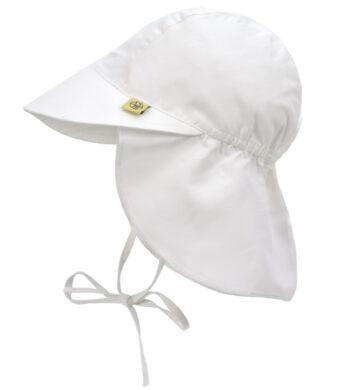 Sun Flap Hat white 18-36 mo.(7292.053)