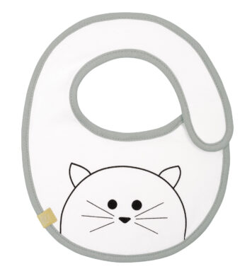 Small Bib Waterproof Little Chums cat  (7248.018)