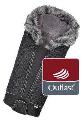 fusak DeLuxe Outlast 2020 černá/stříbrný prošev/šedá(6368L.02)