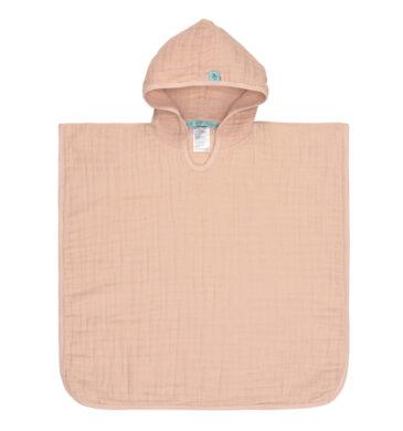 Muslin Poncho light pink(7312.003)