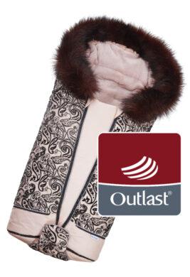 fusak DeLuxe Outlast 2021 pudrová/kašmírový prošev/pudrová(6368L.03)