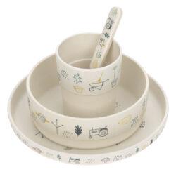 Dish Set Bamboo 2020 Garden Explorer boys-set nádobí