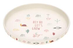 Plate Bamboo Garden Explorer girls-dětský talíř