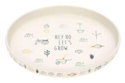 Plate Bamboo Garden Explorer boys-dětský talíř
