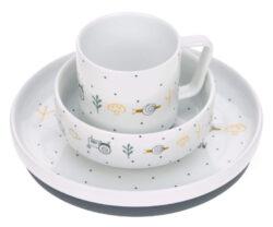 Dish Set Porcelain Garden Explorer boys-set nádobí