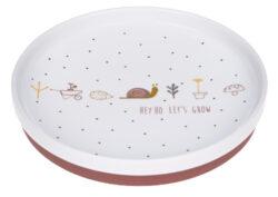 Plate Porcelain 2020 Garden Explorer girls-dětský talíř