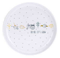 Plate Porcelain 2020 Garden Explorer boys(7243P.02)