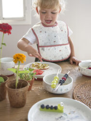Plate Porcelain 2020 Little Chums mouse(7243P.05)