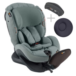 iZi Plus X1 2020 Sea Green Mélange - autosedačka 0-25 kg