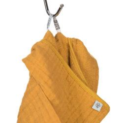 Muslin Poncho mustard(7312.004)