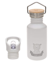 Bottle Stainless Steel Adventure grey - láhev