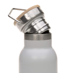 Bottle Stainless St. Fl. Insulated 700ml Adv. grey(73061.02)