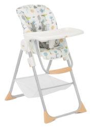 Snacker 2in1 pastel forest-jídelní židlička